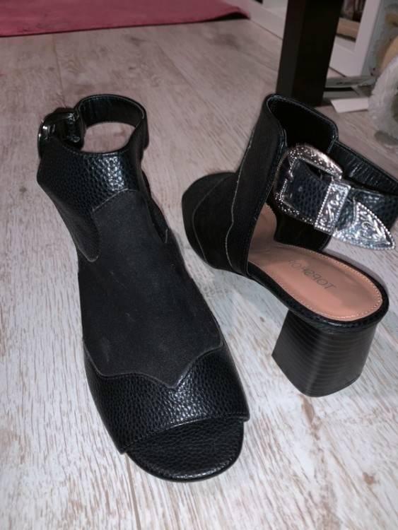 devant Blanche ouverte Grise Votre talon d'achat chaussure guide qxwAS0
