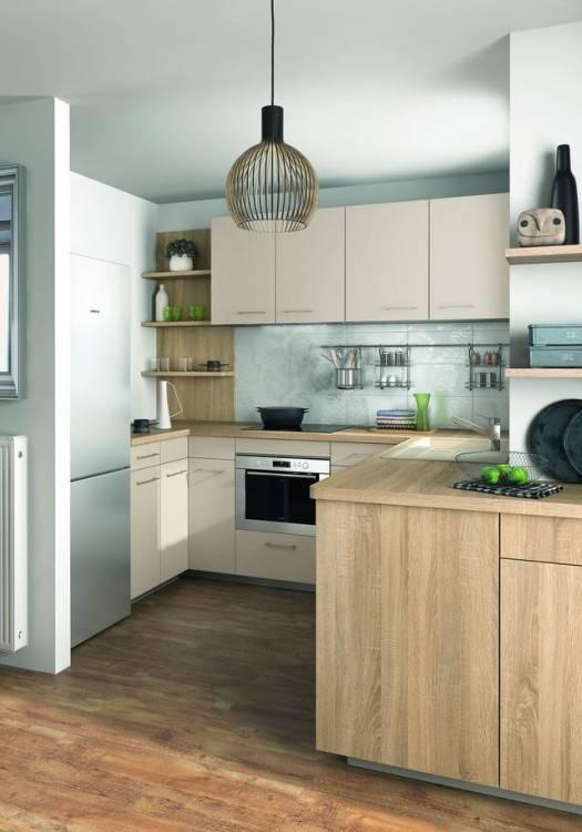 Une petite cuisine peut avoir autant de fonctionnalités qu'une grande cuisine