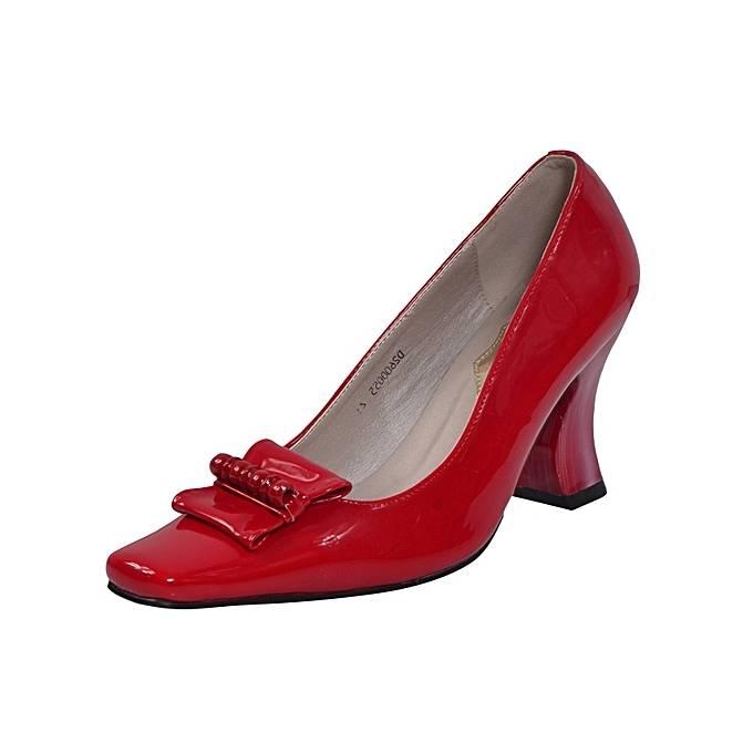 Rose Chaussures Talon à Aiguille Femme Bout été Chaussures Similicuir Talons Rouge Boucle Confort Printemps 06684522