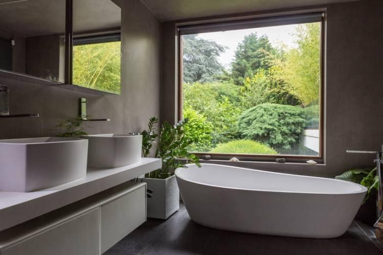 Castorama : Meuble de salle de bains Harmon