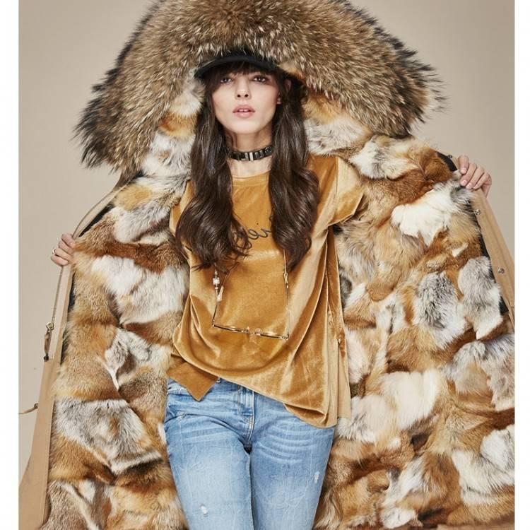Acheter 2018 Mode Femmes Automne Et D'hiver Veste En Laine Manteau Doux Col  De Fourrure Taille Taille Femme Manteau De Laine Épaissir Outwear De  $144
