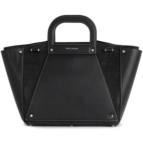 Mini Bag MAJA Sac à main femme pochette Sac bandoulière porté main et épaule en cuir vegan noir