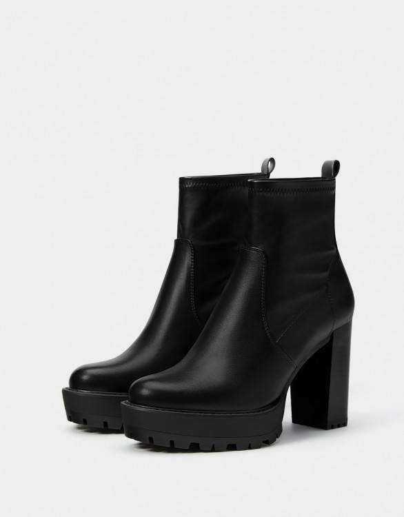 Coloré(TM) Bottes Femme Hiver Bottes Chaussures à Talons Bottines Talon  Femme Chaussures Bottes
