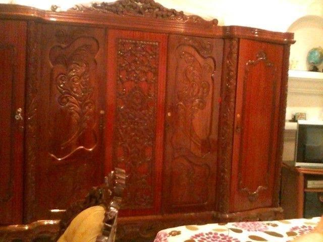 Chambre a coucher pyramide 6 portes en bois rouge pas cher Kolea, Tipaza algerie