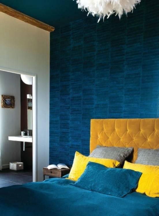 chambre a coucher de reve pour fille ado bleu petite chambre mur