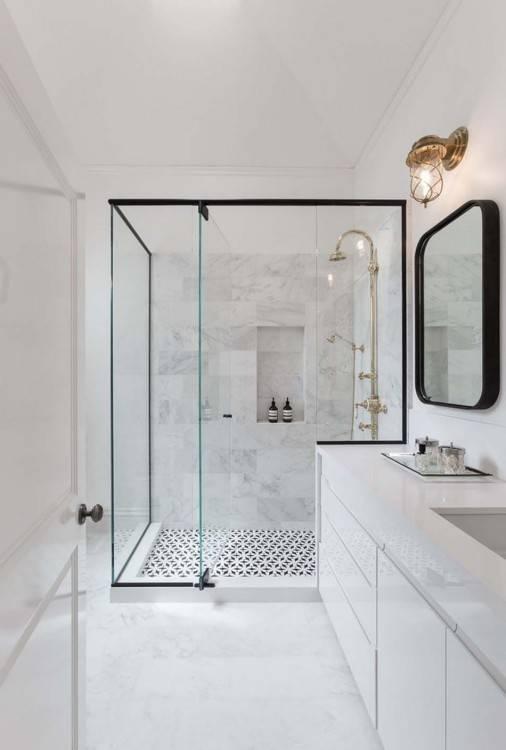 Nouvel agencement & Décoration d'une salle de bain familiale