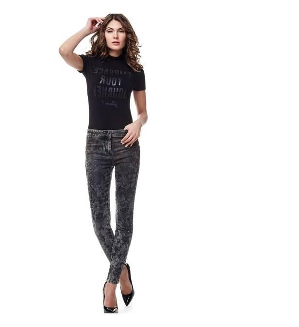 Petit Bateau Pantalon fuseau femme en milano 32304 17 Noir