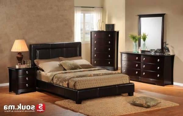 chambre a coucher tapisserie maroc