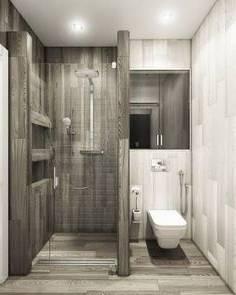 Salle de bains design moderne avec douche italienne: photos et conseils