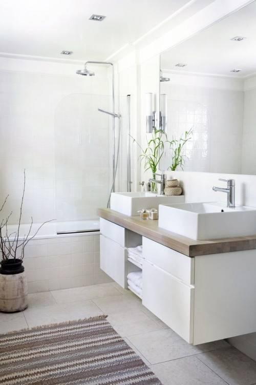 Salle De Bains Jaunes 32 Idaces Pour Une Daccoration Lumineuse Carrelage Bain Moderne Mosaique 1salle Avec