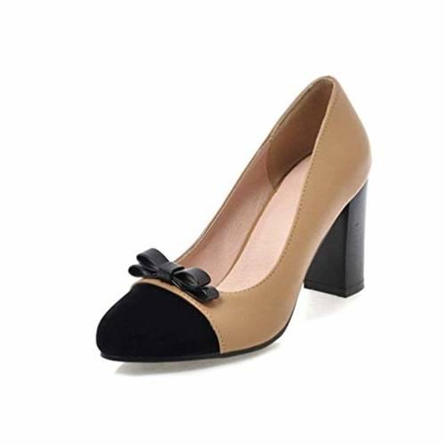 Bottines Véritable Dames Bottes Femmes Haute Noir Frais Petit Bout Chaussures Talon Air blanc Femme En