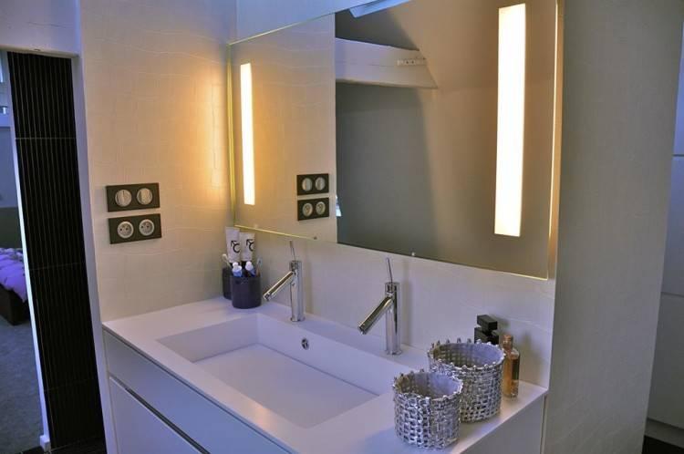 Salle de bains dressing moderne Aix en Provence