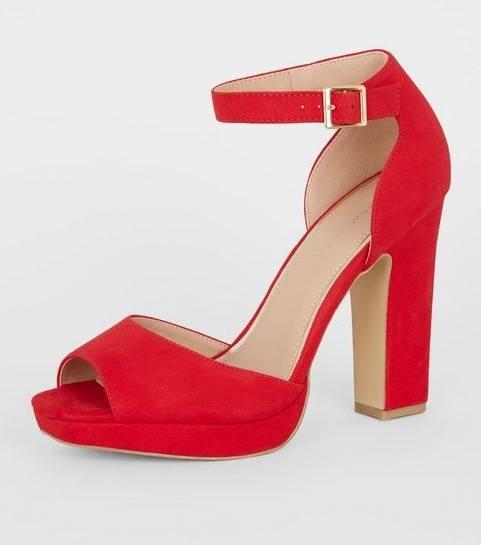 Basique Flocage Talon Rouge Noir Chaussures Talons Escarpin Printemps Bout Soirée Femme Aiguille