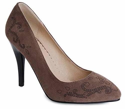 chaussures salvatore à talons noirs salvatore chaussures ferragamo, taille 10 formelle régulière (m,