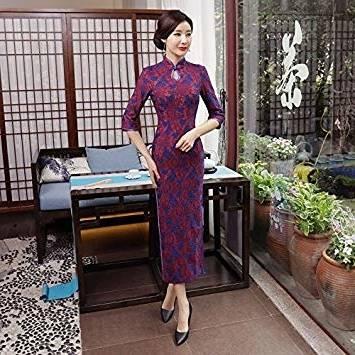 Photo Européen Vêtements Printemps Patchwork Mode Occasionnelle Nouveautés  2019 Mousseline Femmes Style T2831 Color Robe Tempérament