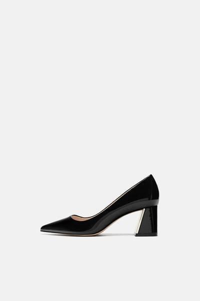 Bloc Chaussures à Talons de la Cheville Extensible Femmes Daim Noir p1s6Tj