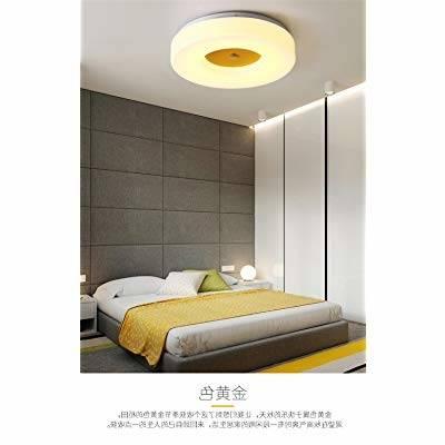 ANGEELEE La géométrie de la lumière nordique plafond led style minimaliste  moderne chambre à coucher salle de séjour d'étude de la lumière des lampes  allée