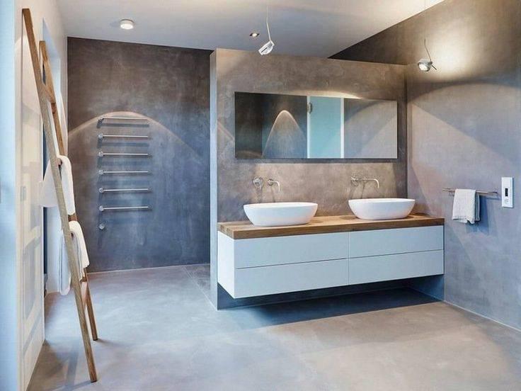 101 photos de salle bains moderne qui vous inspireront douche bain gris  clair un carrelage mural