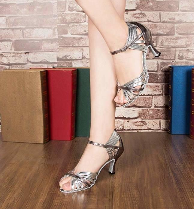 MaxMuxun Carrés Chaussures à Talons Bas avec des Lacets et Boucles Classiques Femmes B06XFZ2BZC