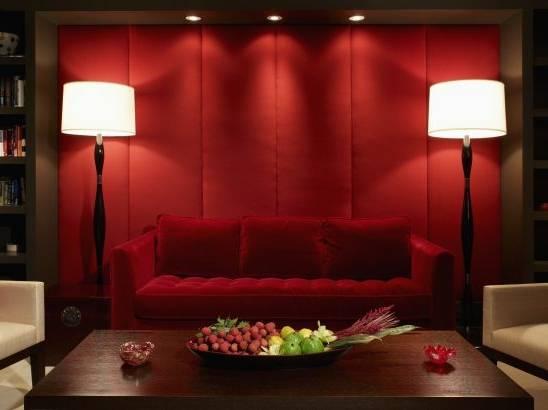 Chambre Chambre A Coucher Moderne Rouge Et Noir Chambre A Coucher Con  Chambre