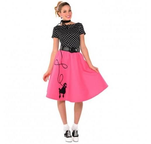 Papier italien Mode femme années 50 rose