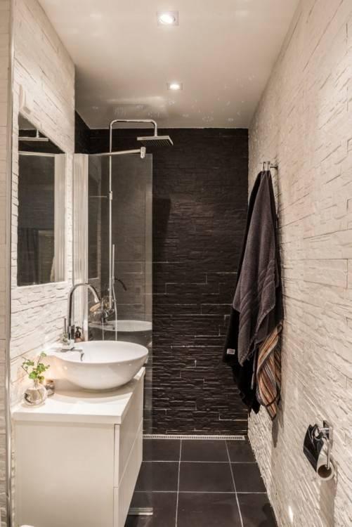 Salle De Bain Petite: Rusé salle de bain petite dans baignoire petit  espace nouveau douche