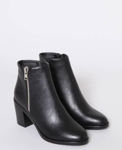 Chaussures CHLOE nouées marron montantes à talon ouvertes sur devant nouées CHLOE à cheville 558f7f