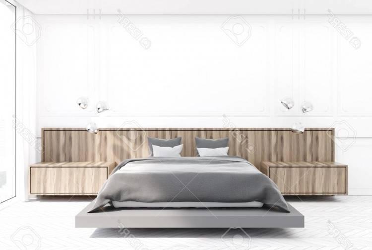 Ensemble design pour chambre à coucher LINA blanc