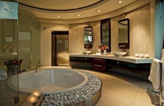 Modele Grande Salle De Bains Avec Spa Amazing Salle De Bain Jacuzzi Moderne De Design S