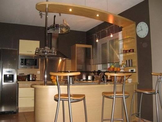 bar pour cuisine ouverte cuisine avec bar comptoir bar de cuisine cuisine en u avec bar