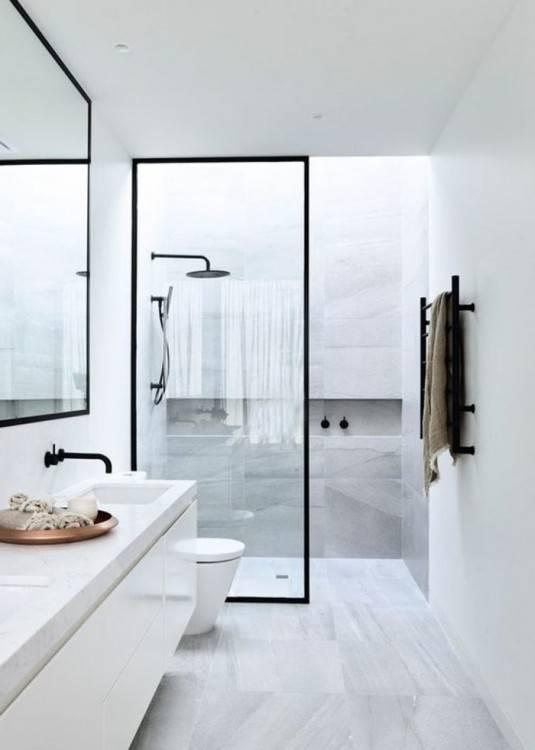 Salle De Bain Petite Surface En Outre Moderne De Maison Style