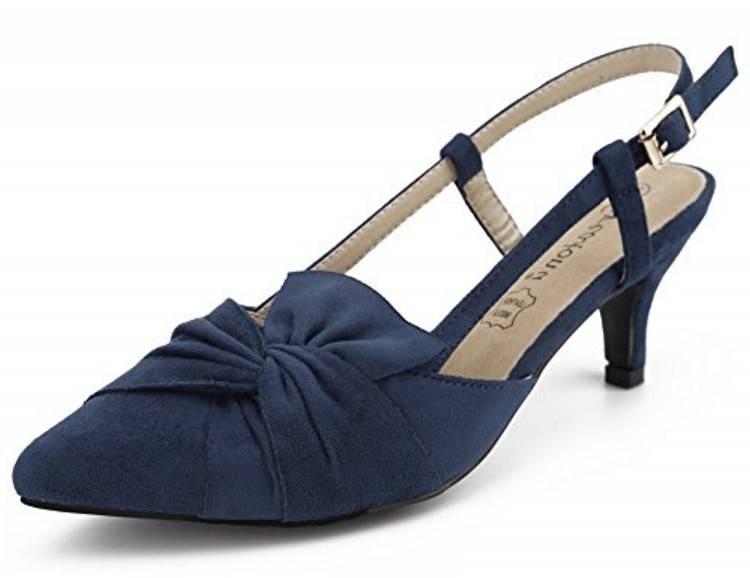 Nouveau style MHSXN Cérémonie de Mariage à Talons Bas Chaussures en Cuir Classique des Femmes Chaussures en Cuir Formel Femmes Noir Rond Tête Chaussures