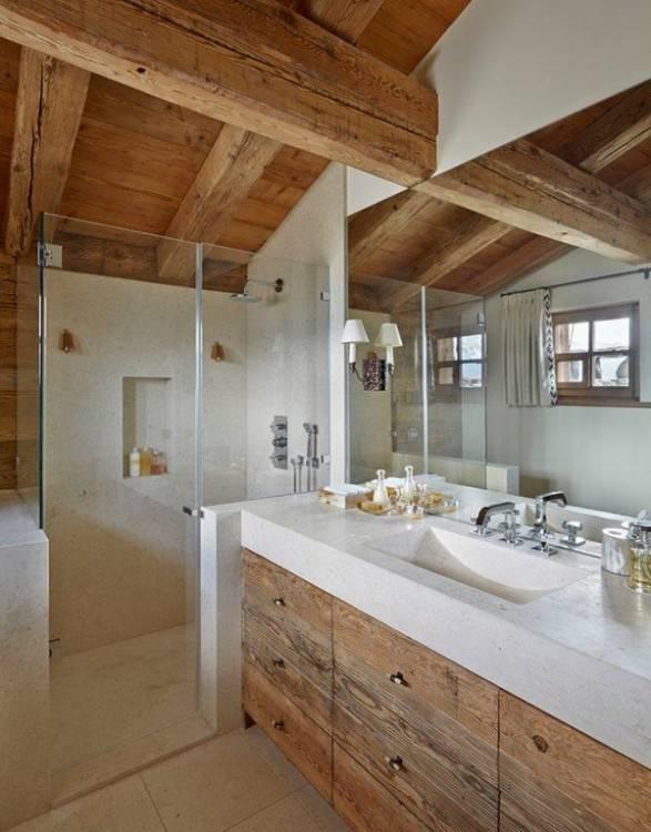 rental luxury chalet chalet cachemire les carroz daraches 14028 salle de  bain decoration salle de bain