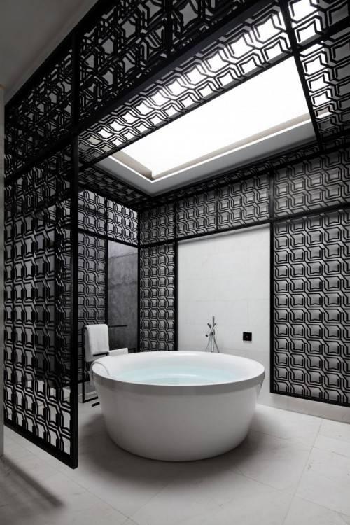 Cette magnifique image des collections sur Jonc De Mer Salle De Bain Idées  Salon Moderne Casablanca est disponible pour téléchargement