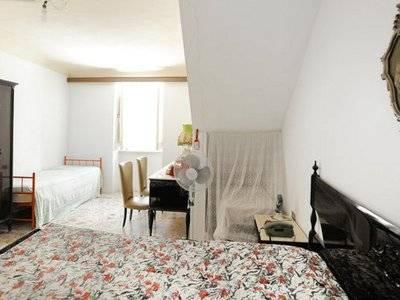 Chambre à coucher, Casa Rocca Piccola La Valette Malte Banque D'Images