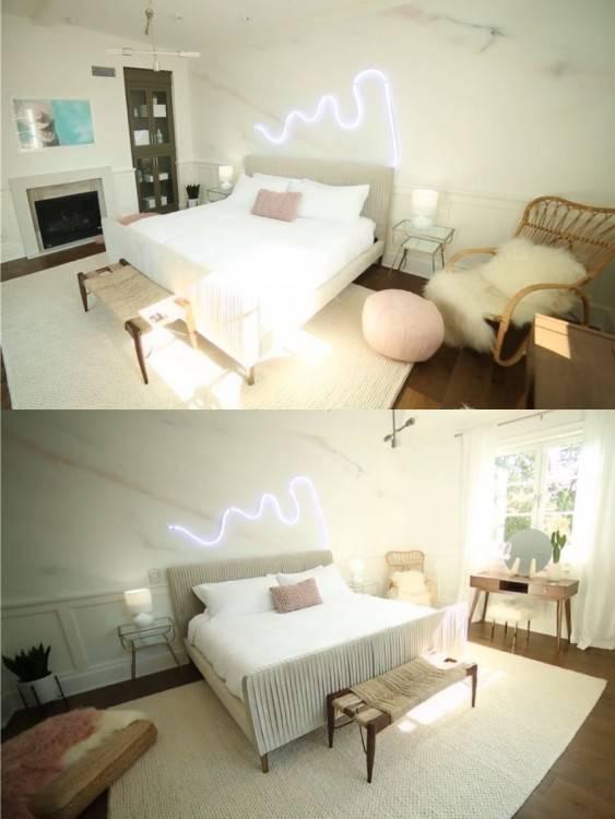 Chambre à coucher KATE DIAM NOIR