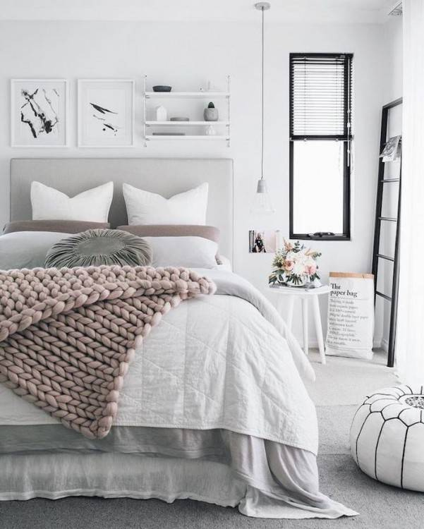 Magnifique Chambre A Coucher Style Scandinave A Propos de Chambre Adulte Deco Scandinave , Une Chambre Au
