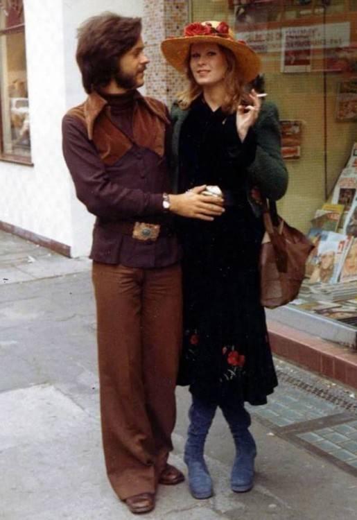 La mode des années 70 a été très dynamique grâce aux trois courants forts de la période