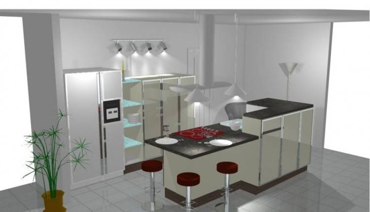 Idée relooking cuisine 10 Modèles de Bar pour Métamorphoser Votre Cuisine! www