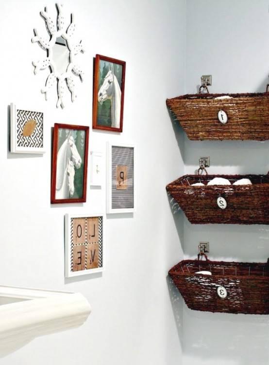 iKayaa Coffre à jouets Grand Coffre de Rangement salle de bain Moderne Banc  de Rangement Coffre