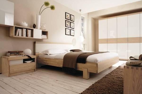 Pour passer des nuits douces et calmes, aménagez votre chambre à coucher avec des meubles et accessoires couleur blanc et lin