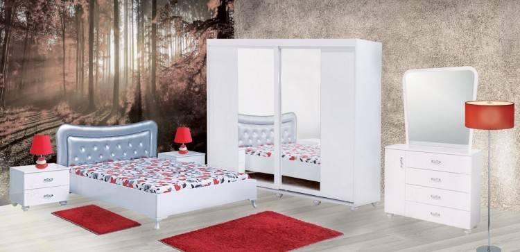 Pour votre chambre à coucher des Parures de lit Tivoli luxueuses de 6,