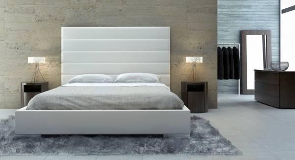 Principale de meubles de chambre à coucher Moderne lit simple lit double 1