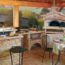 best cuisine d ete en bois modele de cuisine with cuisine d039ete couverte