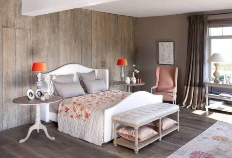 Full Size of Chambre Coucher Bois Rustique Decoration Et Moderne Deco Chic Reussir Une Deco Chaleureuse