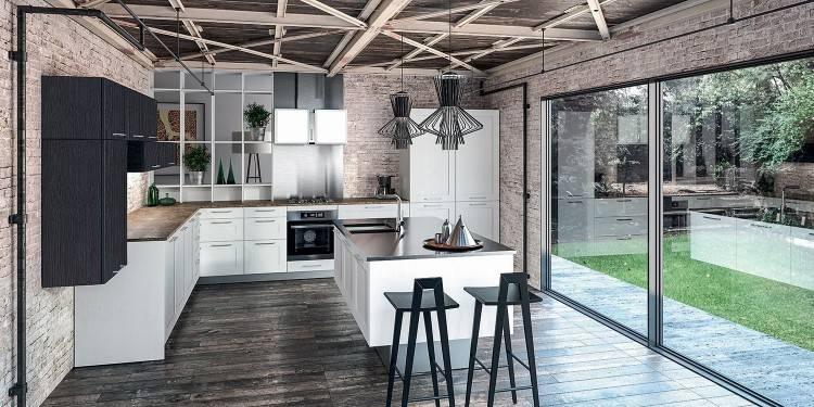La cuisine noire et bois en plus de 80 modèles pharamineux