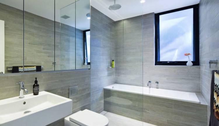 35 salles de bains modernes avec accessoires shopping salle bain moderne sol gris jaune photo grise