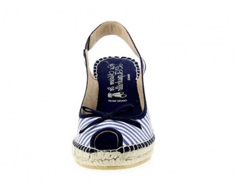 Chaussures à talon, bleu marine, 37, comme neuves 2