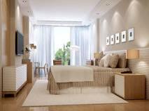 Affiches encadrées minimalistes sur un mur blanc à l'intérieur de chambre à coucher de l'enfant style nordique avec décoration design et mobilier moderne