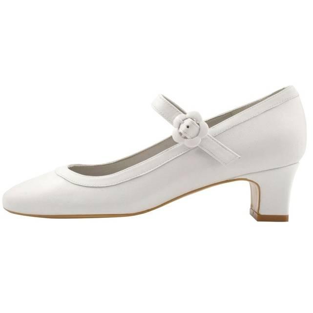 LvYuan GGX Femme Chaussures à Talons Bride A Bride Talons Arrière Cuir Eté Décontracté A Bride Arrière Gros Talon Blanc Noir
